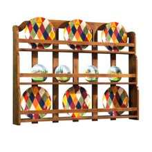 Plate Rack for Huntboard