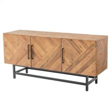 Imola Sideboard 3 Doors, Harbour Brown
