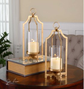 Lucy, Candleholders, S/2