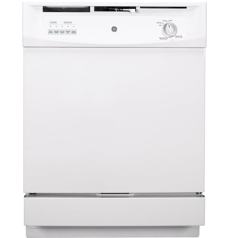 Gsd3300kww Ge 174 Built In Dishwasher White Haywood Appliance