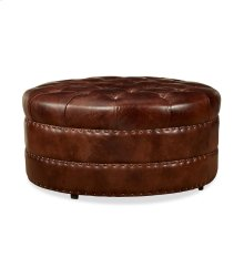 Hudson Cocktail Ottoman - Milan Chocolate