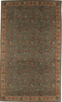 Hard To Find Sizes Grand Parterre Pt01 Blue Rectangle Rug 10' X 20'