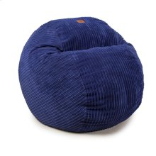 Queen Chair - Terry Corduroy - Navy Blue