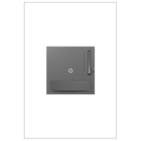 Motion Sensor Dimmer Switch, 700W Incandescent/Halogen, Magnesium