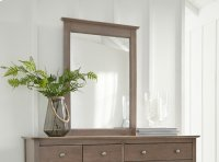 Lancaster Mirror Weathered Gray Product Image