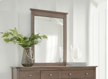Lancaster Mirror Taupe Gray