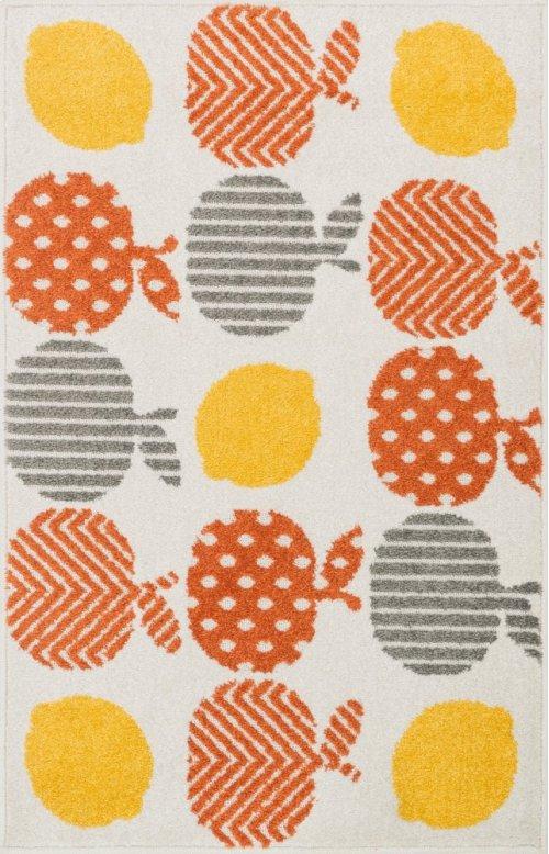 Orange / Multi Rug
