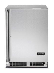 """24"""" Solid Door Undercounter Refrigerator, Right Hinge/Left Handle"""