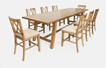 Telluride Trestle Table W/10 Stools