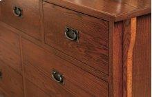Heirloom Mission 7 Drawer Dresser
