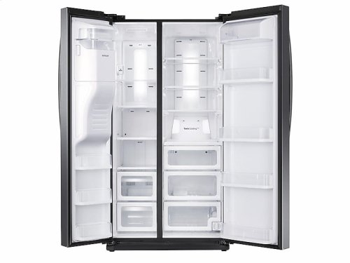 24.5 cu. ft. Side-By-Side Refrigerator with In-Door Ice Maker