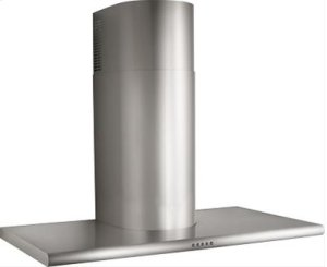 "36"" Stainless Steel Range Hood with CFM External Blower Options"