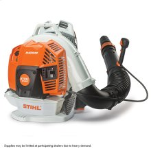 Our biggest, baddest and most powerful backpack blower.