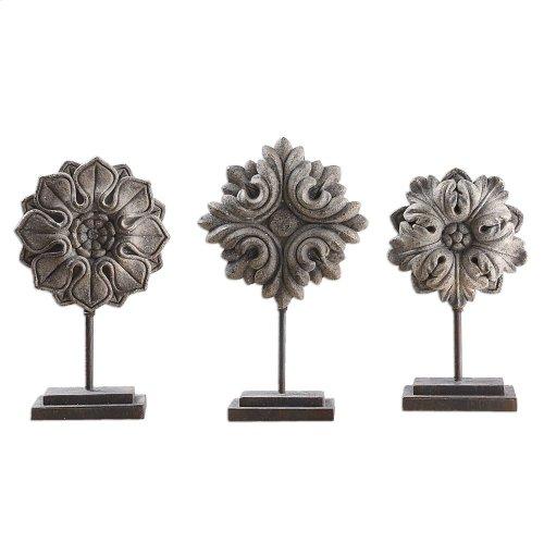 Alarik Sculpture S/3