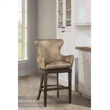 Caydena Upholstered Swivel Counter Stool