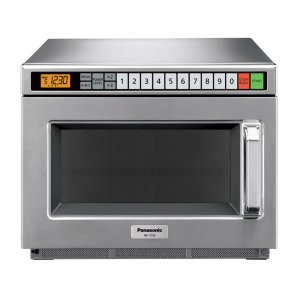 Panasonic1700 Watt Compact Commercial Microwave Oven with 60 Programmable Memory Pads and SD programming