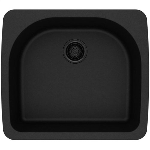"Elkay Quartz Classic 25"" x 22"" x 8-1/2"", Single Bowl Drop-in Sink"