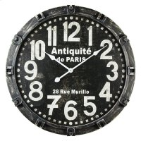 Antique De Paris Wall Clock Product Image