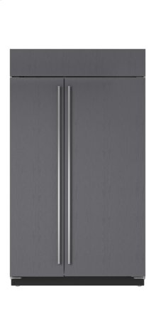 "48"" Built-In Side-by-Side Refrigerator/Freezer - Panel Ready"