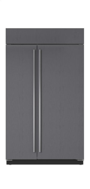 """48"""" Built-In Side-by-Side Refrigerator/Freezer - Panel Ready"""