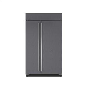 "Sub-Zero48"" Classic Side-by-Side Refrigerator/Freezer with Internal Dispenser - Panel Ready"