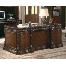 Tucker Traditional Rich Brown Executive Desk Product Image