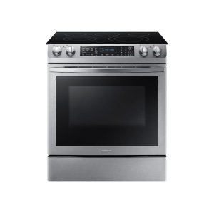Samsung5.8 cu. ft. Slide-In Electric Range in Stainless Steel