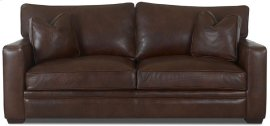 Homestead Two Cushion Leather Sofa