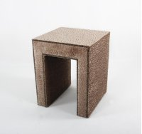 Upholstered End Table Product Image