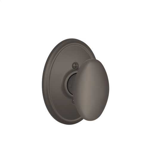 Siena Knob with Wakefield trim Non-turning Lock - Oil Rubbed Bronze