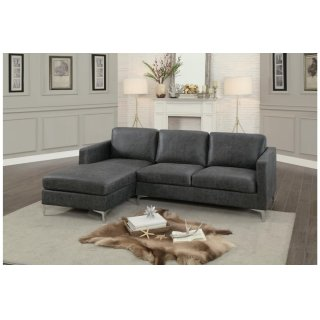 Breaux Sectional Gray