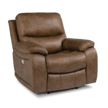 Hendrix Fabric Recliner with Power Headrest