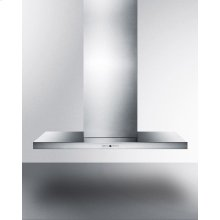"48"" Wide Wall-mounted Range Hood Made In Spain With Complete Stainless Steel Construction"