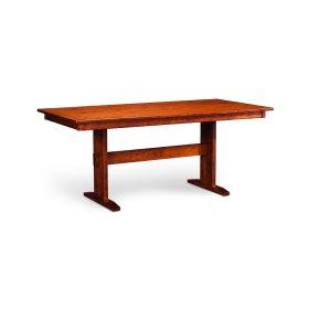 "Shenandoah Trestle II Table, Shenandoah Trestle II Table, 42""x72"", 1-32"" Stationary Butterfly Leaf"