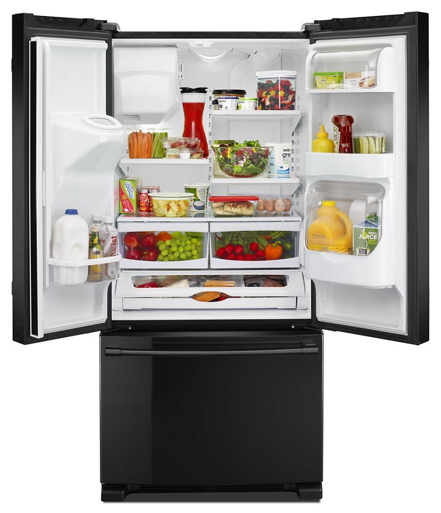 Mfi2269frb Maytag 33 Inch Wide French Door Refrigerator