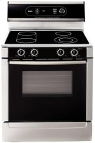 "30"" Electric Freestanding Range 700 Series - Stainless Steel Product Image"
