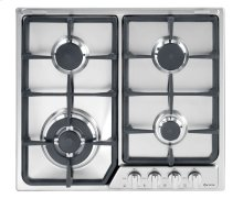 "Stainless Steel 24"" Deluxe Gas Cook Top"
