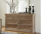 Sonoma 7 Drawer Dresser Taupe Gray Product Image