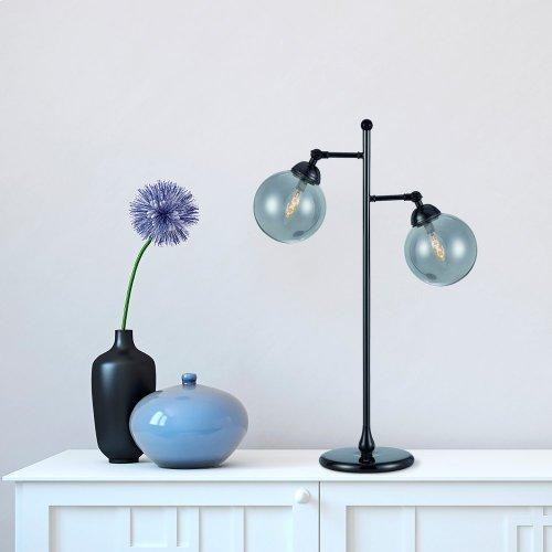 40W X 2 Prato Metal Table Lamp