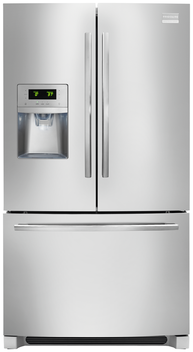 french shop with steel refrigerator stainless pd door doors maker star ft ice energy cu easycare frigidaire