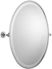 """Antique Gold Framed mirror, 23 5/8"""" H x 17 11/16"""" W"""