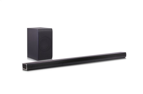360W 4.1ch Music Flow Wi-Fi Streaming Sound Bar with Wireless Subwoofer