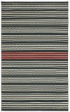 Dokka Stripe Kettle Blush Flat Woven Rugs
