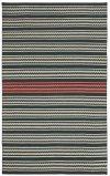 Dokka Stripe Kettle Blush Flat Woven Rugs