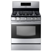 NX58F5300 Gas Range (Stainless Steel)