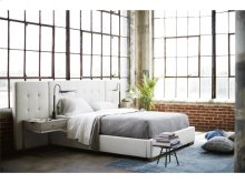 Brantley Queen Bed with Wall Panels