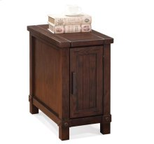 Windridge Chairside Chest Sagamore Burnished Ash finish