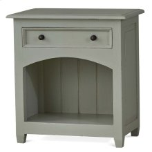 Craftsman Open Nightstand
