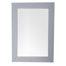"Weston 29"" Rectangular Mirror, Silver Gray"