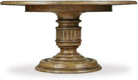 Auberose 60in Round Pedestal Table